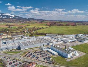 Továrna Škoda Auto ve Vrchlabí. foto: Škoda