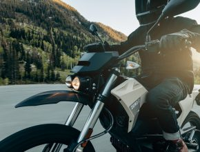 Elektromotorka Zero FX amerického výrobce Zero Motorcycles. foto: Zero Motorcycles