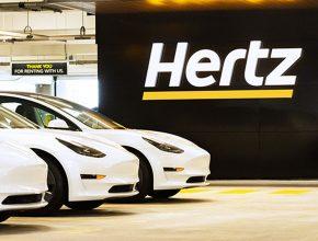 Globální síť autopůjčoven Hertz si objednala 100 000 elektromobilů Tesla. Primárně nejspíš půjde o Model 3, sekundárně možná také Model Y. foto: Hertz
