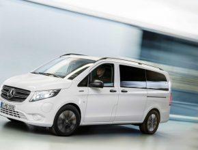 Elektrická dodávka Mercedes-Benz eVito Tourer. foto: Mercedes-Benz Vans