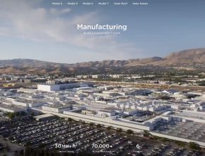 továrna Tesla gigafactory gigatovárna